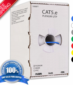 Cat5e Plenum Cables