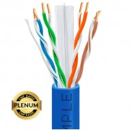 Cat5e Plenum Solid 1000ft UTP Networking Cable