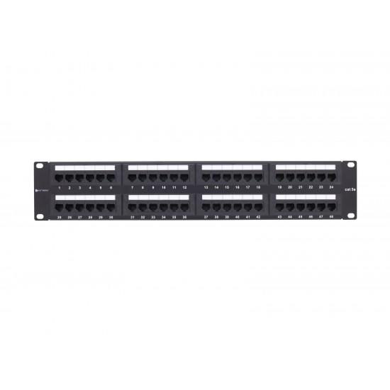 Cat5e 48 Port Patch Panel