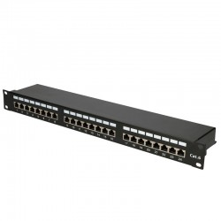 Cat6 24 Port Patch Panel